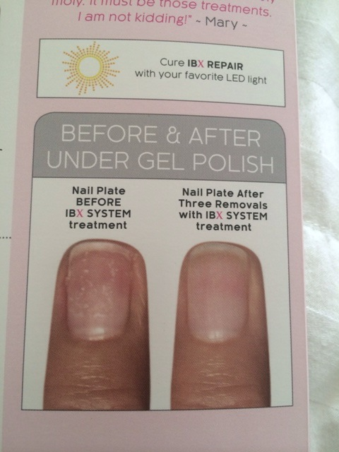 IBX Nail Treatment for Gel Nails